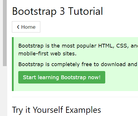 Bootstrap Tutorails with PACS Web Design SIG