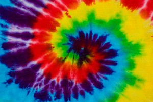 Tie dye pattern for t-shirt.